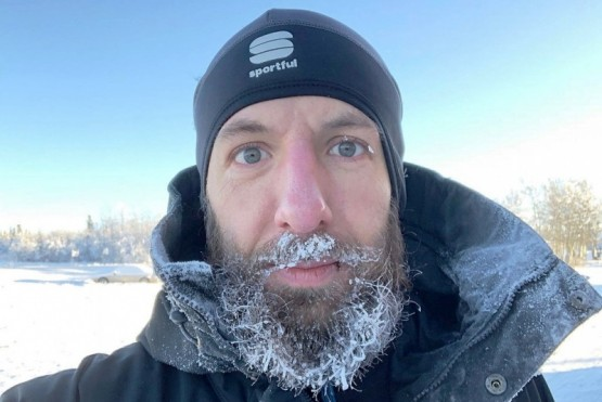El ultrarunner Juan Pablo Savonitti estima realizar su travesía en más de 900 días.