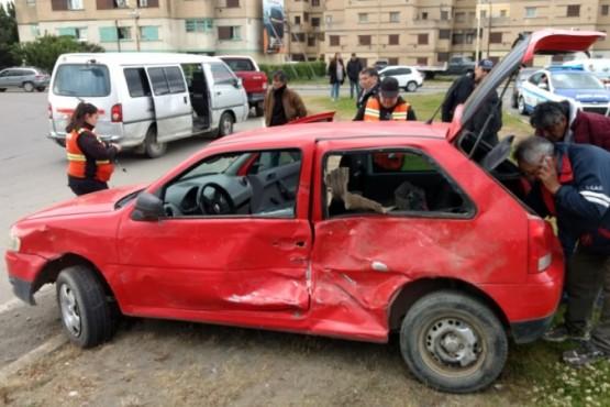 Accidente sin heridos en la Autovía