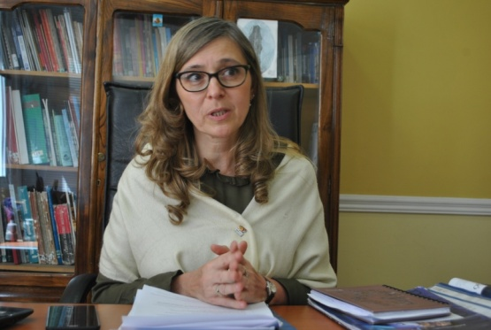Valeria Pelliza, Secretaria de Turismo.