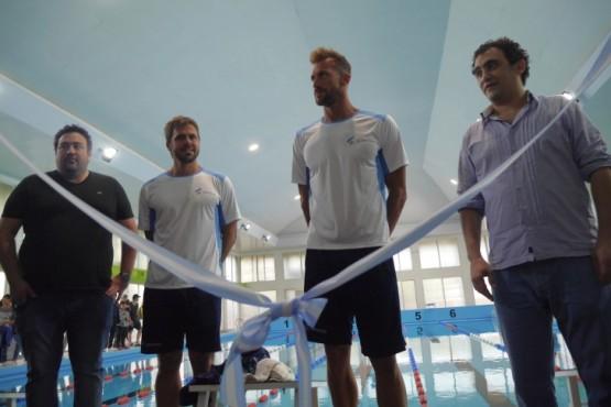 Las Heras reinauguró el natatorio municipal