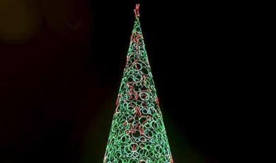 Comodoro tendrá un árbol navideño sustentable