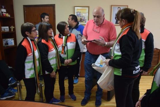 El intendente recibió al equipo de Newcom de Entre Ríos