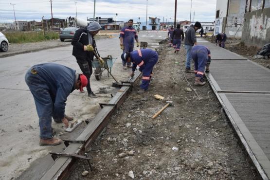 Trabajos de mantenimiento y construcción