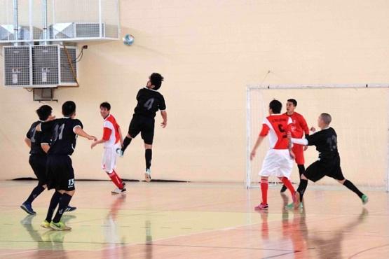 El gimnasio San Benito recibe al fútbol de salón