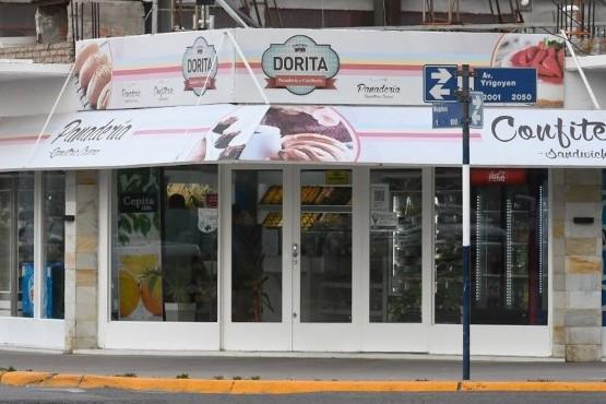 Motochorros robaron una panadería