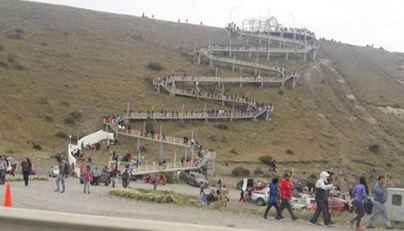 En Río Gallegos hubo casi tanta gente como el año pasado.