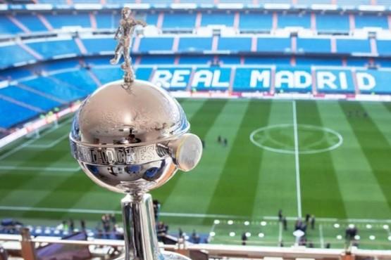 La Copa Libertadores ya está en el Santiago Bernabéu