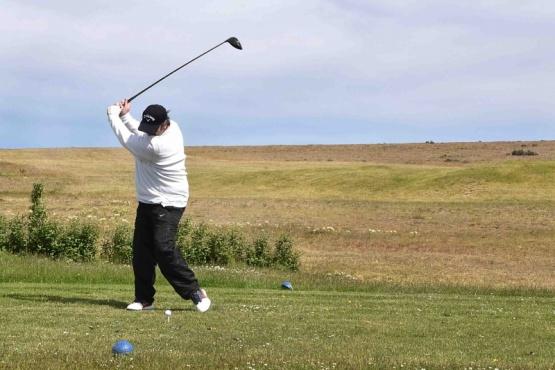 Más de veinte jugadores en el torneo de golf