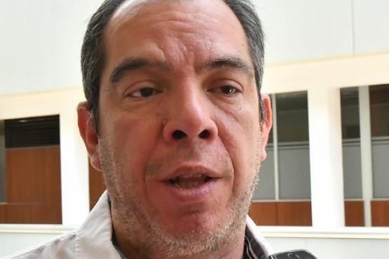 El presidente de la Legislatura e integrante del Tribunal, José Grazzini