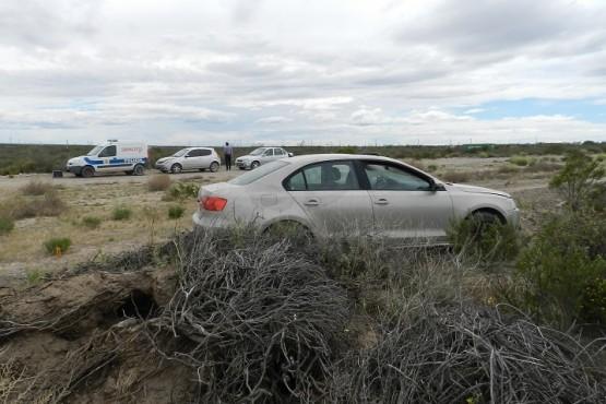 Encuentran auto abandonado y el dueño está desaparecido