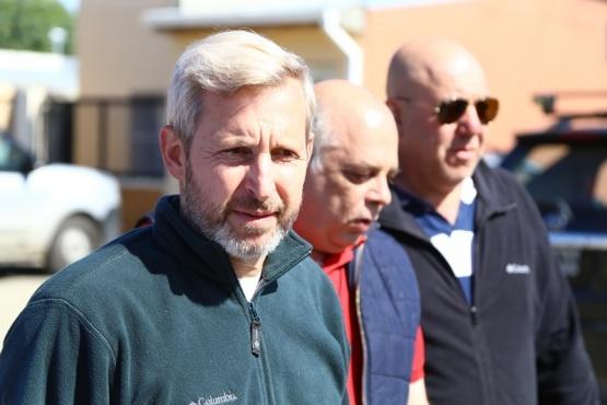 """Frigerio aseguró que Santa Cruz seguirá recibiendo """"crecientes recursos"""""""