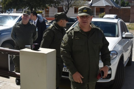 Jefe de Gendarmería presentó sus saludos a la juez federal