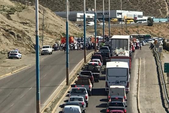 """Manifestación y corte de ruta por """"una Navidad sin hambre"""""""