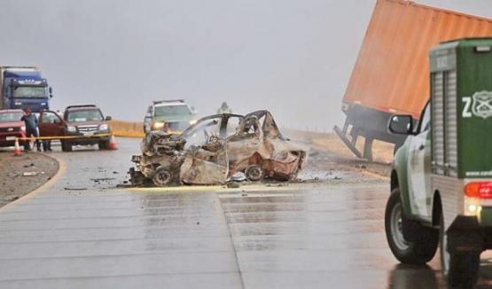 Año y medio para camionero que dejó cinco muertos en accidente