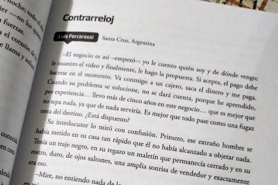Escritor local presente en una Antología Internacional