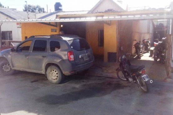 Por robo, secuestraron cuatro motos de un taller