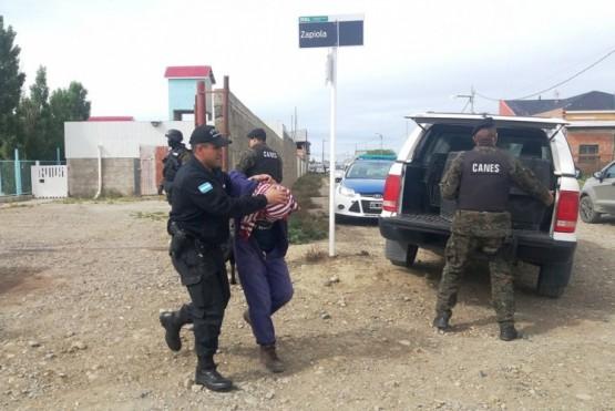 """Nueve demorados por los asaltos a """"Coco Express"""" y """"Kiosco Yosue"""""""