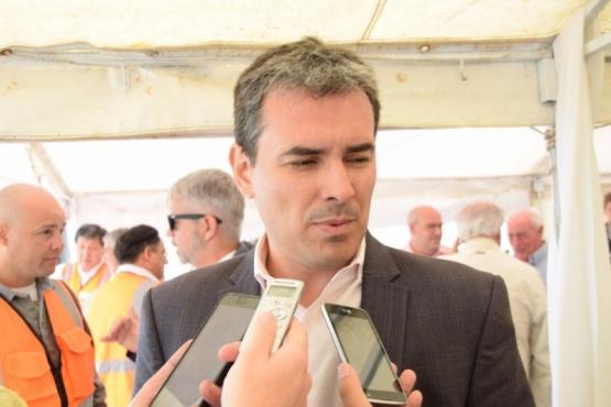 Ministro de Hidrocarburos de la provincia, Martín Cerdá