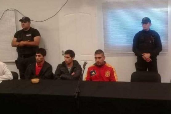 Seguirán en prisión los tres sujetos que intentaron robar en el Banco Patagonia