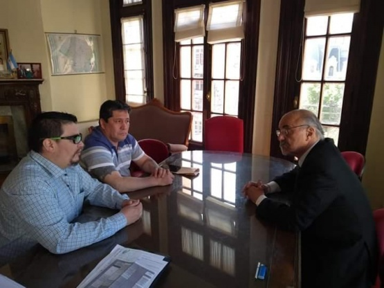 Carlos Tomada visitó Comodoro Rivadavia