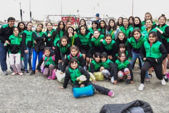 Liga femenina: el Lucho Fernández viajó a Punta Arenas