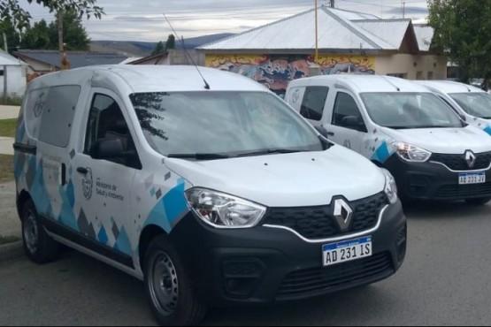 El Gobierno presentó la nueva flota de vehículos de Salud