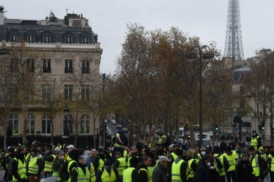 París en alerta: los chalecos amarillos salen a la calle por quinto sábado consecutivo