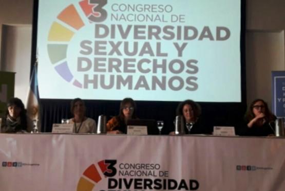 Santa Cruz presente en 3er Congreso Nacional de Diversidad Sexual y DDHH
