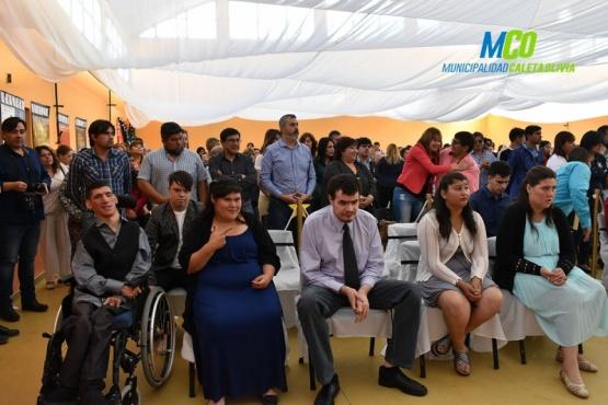 Finalizaron pasantías de alumnos de la Escuela Especial Salvador Gaviota