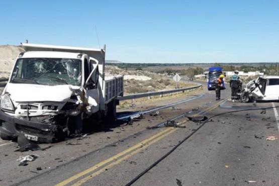 Choque fatal contra un camión municipal