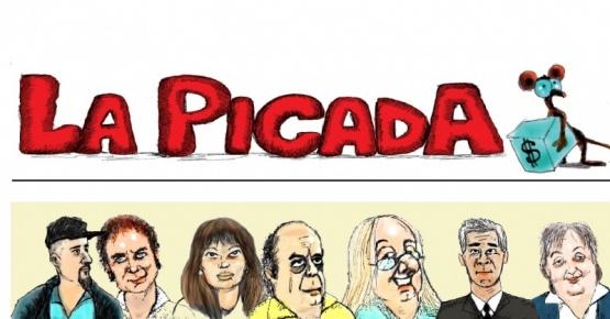 """""""La Picada"""" estrena contratapa en el suplemento """"La mesa chica"""""""