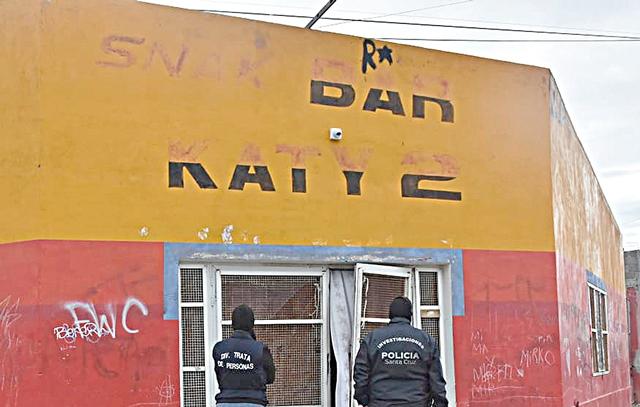 El ingreso al local fue realizado por el personal de las Fuerzas Especiales.