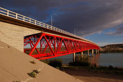 El puente de Piedra Buena se mantiene cortado hasta el lunes