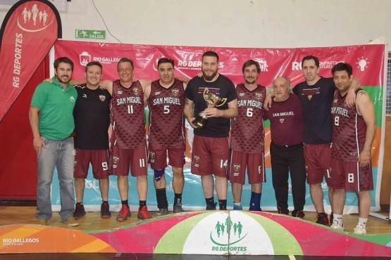 San Miguel se quedó con la Copa Ciudad en categoría Maxi