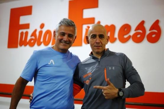 Justo Aon capacitó a entrenadores en el sistema de entrenamiento funcional