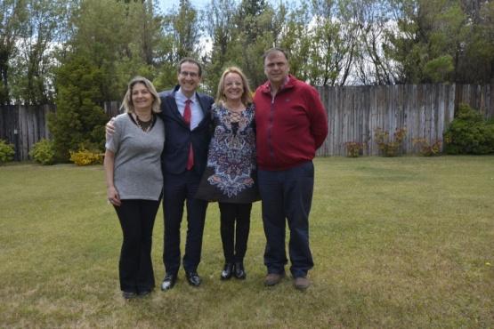 Alicia recibió al cónsul de Francia en El Calafate