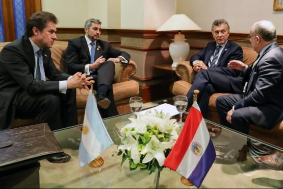 Macri y Abdo Benítez se reunieron en el marco de la cumbre del Mercosur