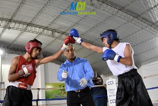 El Mega Festival de Boxeo cerró con tres peleas profesionales