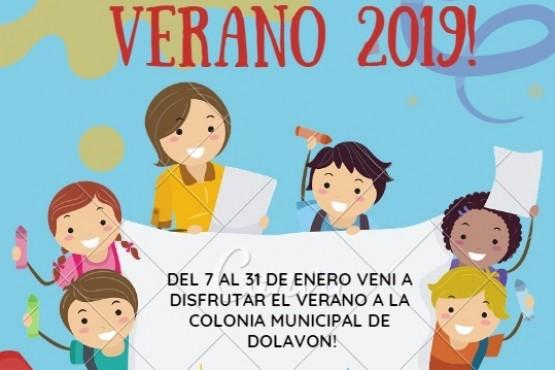 Ya se encuentran abiertas las inscripciones para las colonias de vacaciones 2019