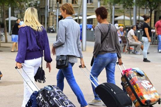 Creció la cantidad de turistas extranjeros hospedados en hoteles