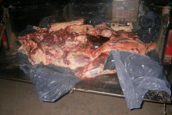 Recuerdan sanciones por venta de carne clandestina