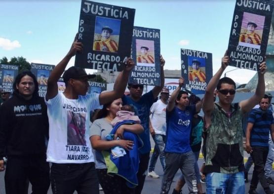 Clamaron justicia por el hincha de Boca asesinado en Caleta Olivia