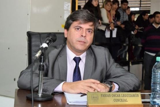 Leguizamón acusó a Jorge Cruz de una movida en el Concejo por el año electoral