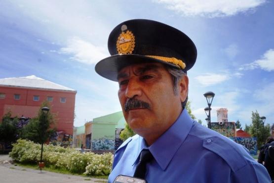 Comisario General (R) José Luis Cortés, Jefe de Policía.