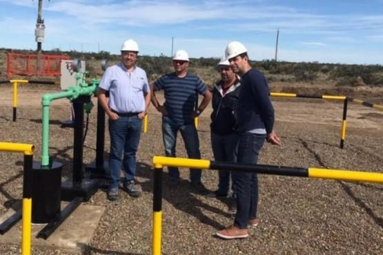 Con la apertura de nuevos pozos, ingresará más agua potable Caleta Olivia