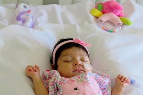 Aluminé: la Beba que recibió un trasplante de hígado a los 27 días de nacer