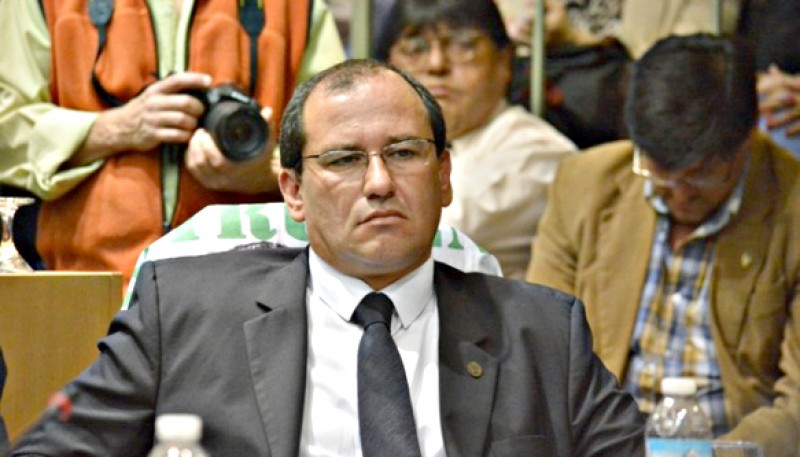 Víctor Álvarez, diputado de Las Heras. (Archivo).