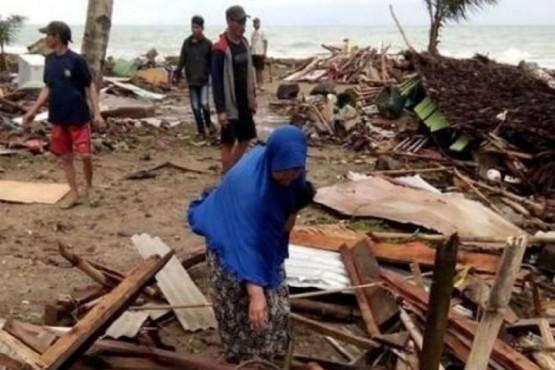 Un tsunami dejó al menos 168 muertos y 750 heridos