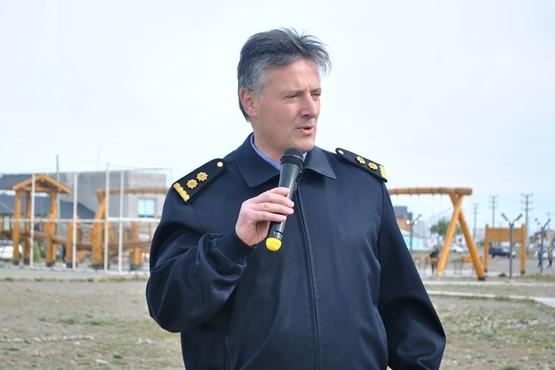 Director de la Regional Sur, Comisario Mayor Juan José Pérez.