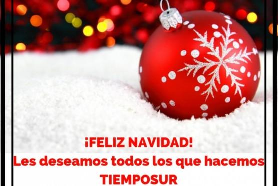 TiempoSur desea una muy Feliz Navidad a todos los lectores